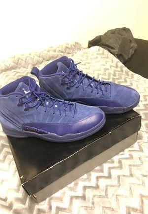 """Jordan 12 retro """"deep royal blue"""" for Sale in Atlanta, GA"""