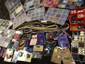 Huge lot 7, of beads and jewelry making supplies for Sale in Chandler, AZ