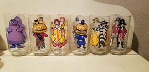McDonald's 1970's Collection Glasses for Sale in Phelan, CA