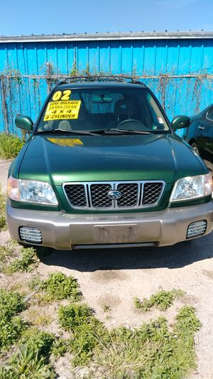 SUBARU FORESTER 2002 115K MILES for Sale in Austin, TX