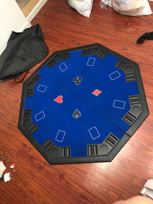 Folding poker table top 8 person for Sale in Lincoln, RI
