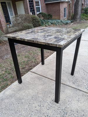 Tall kitchen table for Sale in Fairfax, VA