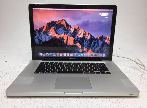 MacBook Pro 2010 15 inch I5 320gb hard drive 4gb memory ram