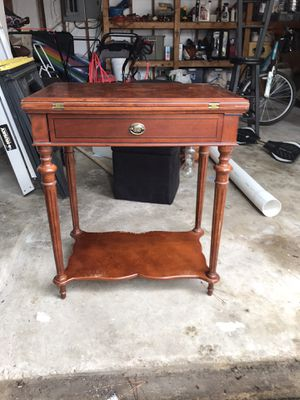 Antique foldout poker table for Sale in San Marcos, TX