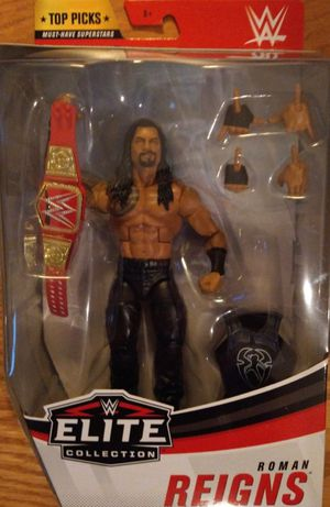New WWE Elite Collection Roman Reigns Figure. for Sale in Apopka, FL