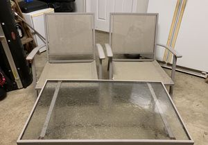 Great outdoor furniture set. Nearly brand new! for Sale in Schaumburg, IL