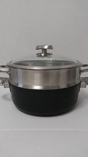 SCANPAN PRO S5 BRAISE AND STEM 4.5 QT for Sale in Bell Gardens, CA