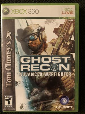 Ghost Recon: Advanced Warfighter (XBOX 360 - Like New) for Sale in Daniels, MD