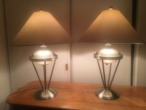 Twin lamps set for Sale in Upland, CA