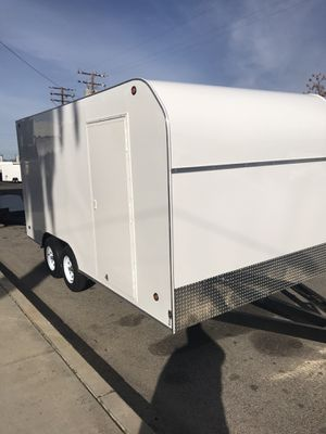 Brand new 8.5x20x7 enclosed trailer for Sale in Rancho Cucamonga, CA