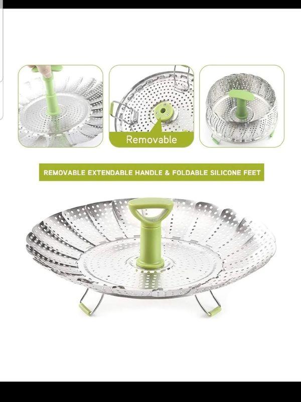 Vegetable Steamer Basket (Set of 3)
