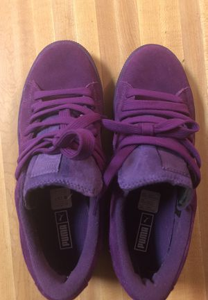 Purple pumas for girls for Sale in Brentwood, MD