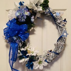 Hanukkah Wreath For Front Door for Sale in Centreville, VA