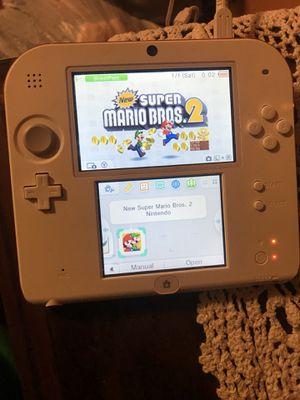 Nintendo 2DS white/Red for Sale in Dallas, TX