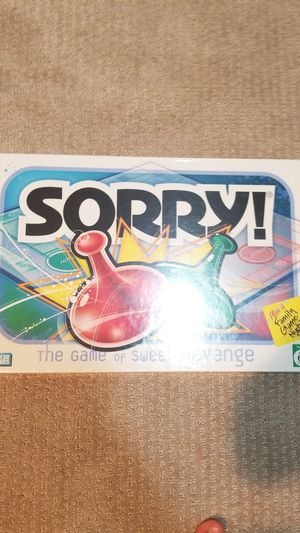 Board game SORRY for Sale in Auburn, WA