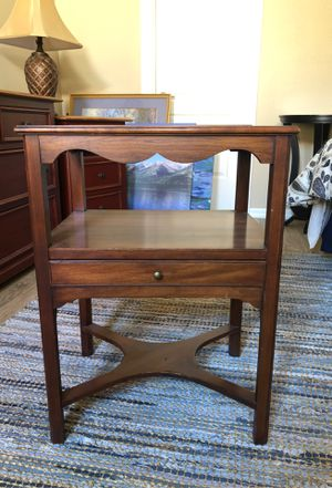 Antique side table solid wood for Sale in Henderson, NV