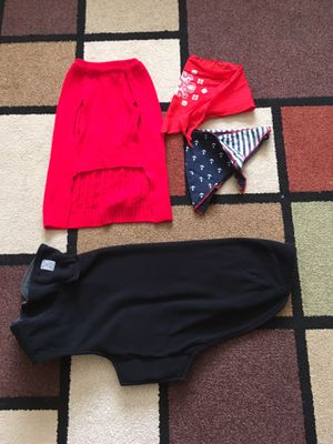 RC Pets fleece dog coat bundle with extras for Sale in San Leandro, CA