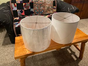 Lamp Shades (pair) for Sale in Farmington Hills, MI