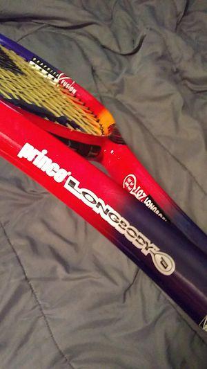 Prince, longbody 107 synergy react tennis racket for Sale in Saint Petersburg, FL