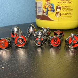Naruto Rings for Sale in Ceres, CA