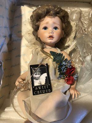 Sweet Cherub Porcelain Doll for Sale in San Dimas, CA