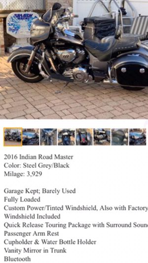 2016 Indian Motorcycle for Sale in Queens, NY