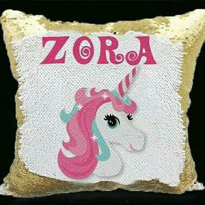 Personalized sequin hidden message pillow for Sale in Columbus, OH