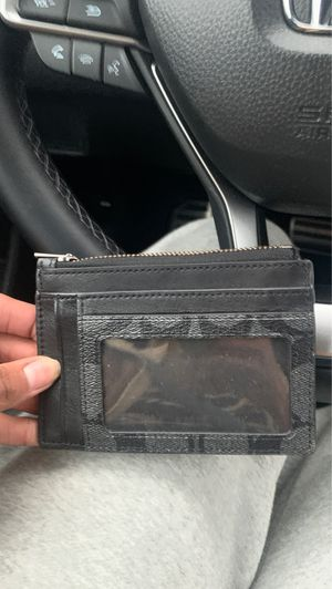 Real Coach wallet (black) for Sale in Gahanna, OH