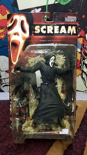 1999 McFarlane Toys Movie Maniacs Series 2 Scream Ghostface Action Figure for Sale in San Jose, CA