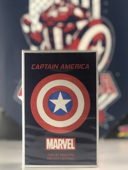 Medium Captain America Canvas and Cologne for Sale in Brooklyn,  NY