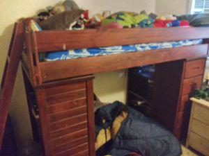 Mor furniture cool kiddos bunk loft for Sale in Portland, OR