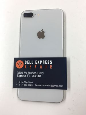 iPhone 8 Plus 64GB Unlocked With 30 Days Warranty for Sale in Tampa, FL