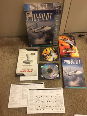 2 PC Games- Flight Simulation for Sale in Beaverton, OR