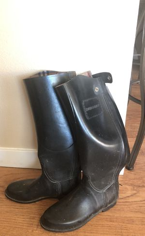 Burberry Rainboots (Size 9/10) for Sale in Seattle, WA