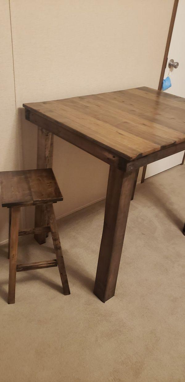 Handmade solid oak table