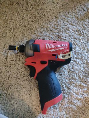 Milwaukee M12 Brushless Impact Fuel Surge drill with 2 batteries, charging port and bag carrier for Sale in Spring Valley, CA