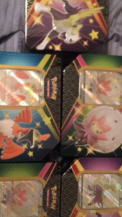 Shining Fates Tins (5) for Sale in Cape Coral,  FL