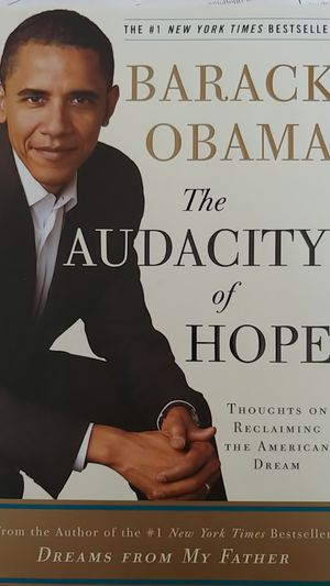 "Barack Obama's ""The Audacity of Hope"" Hard Copy for Sale in Blacklick, OH"