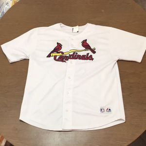 Vintage Pujols St Louis Cardinals Majestic Baseball Jersey Men's See Description for Sale in Saint Charles, MO
