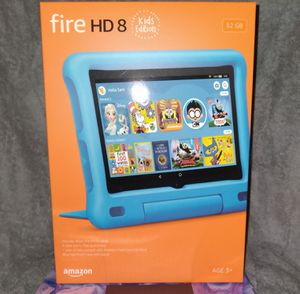 Kids amazon 8 hd & 7 fire tablets an reg amazon fire 7 tablet for Sale in Santa Ana, CA