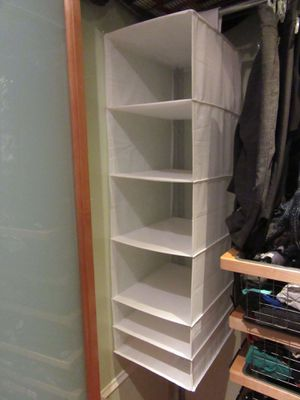 Two (2) hanging closet organizers for Sale in Washington, DC