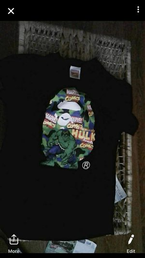 Bape hulk authentic for Sale in Columbia, SC