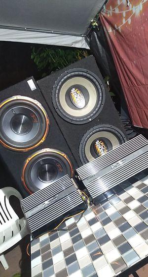Car speaker system (bundle) for Sale in Azusa, CA