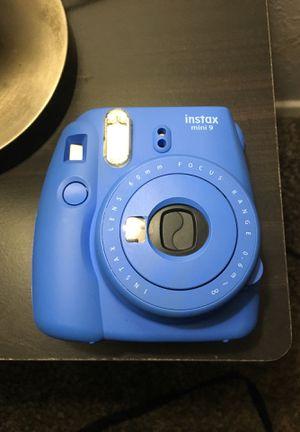 instax mini 9 polaroid for Sale in Lubbock, TX