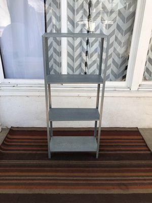 Grey Metal Shelf for Sale in Los Angeles, CA