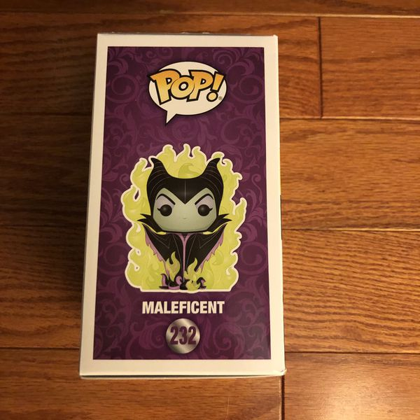 Funko Pop Vinyl - Disney: Maleficent 🧙‍♀️(GITD LIMITED CHASE EDITION)