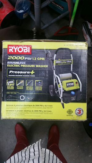 RYOBI 2000PSI Brushless Electric Pressure Washer for Sale in Cottonwood Heights, UT