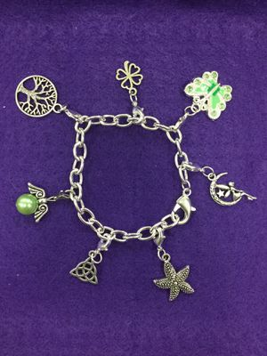 .925 sterling silver dangle charm bracelets for Sale in Glendale, AZ