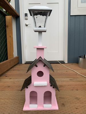 Solar powered birdhouse lamp for Sale in Portland, OR