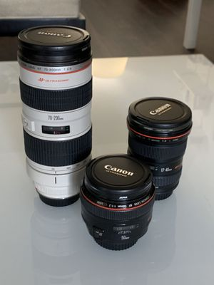 Canon L-Series lenses for Sale in Los Angeles, CA